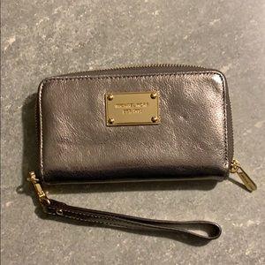 Michael Kors wallet with wrist holder